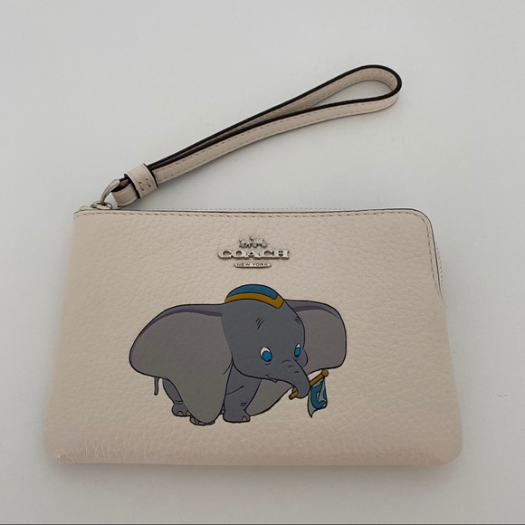 Coach x Disney Dumbo Zip Wristlet